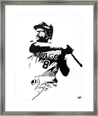 The Hawk Framed Print by Matthew Formeller
