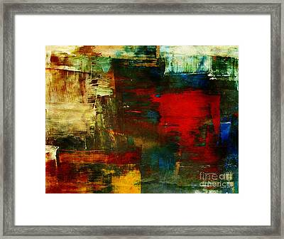 The Healing Process Inspired This Framed Print