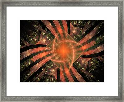 The Heart Of It All Framed Print by Ricky Barnard