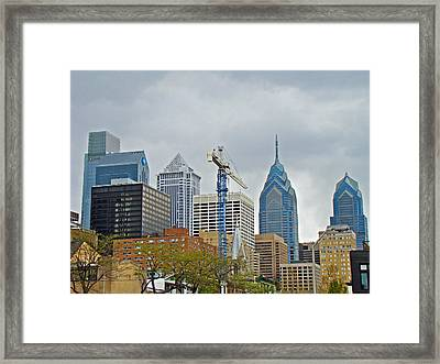 The Heart Of The City - Philadelphia Pennsylvania Framed Print by Mother Nature