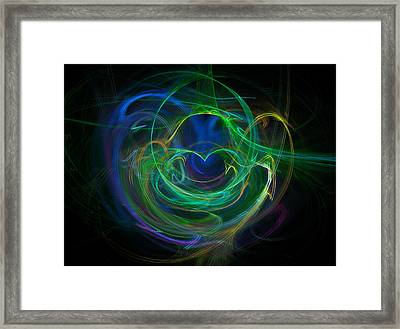 The Heart's Desire Framed Print