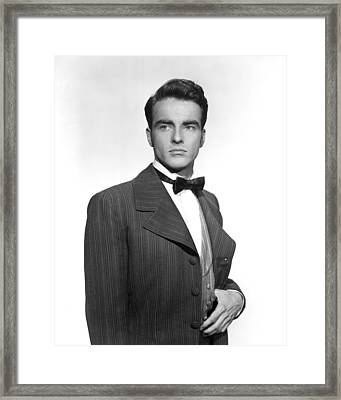 The Heiress, Montgomery Clift, 1949 Framed Print
