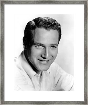 The Helen Morgan Story, Paul Newman Framed Print by Everett
