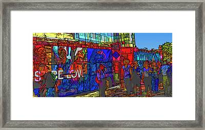 The Herdlings In New York Framed Print by Rianna Stackhouse