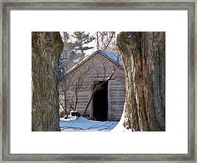 The Hideout Framed Print