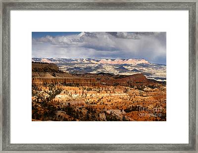 The High Desert Bryce Canyon Framed Print by Butch Lombardi