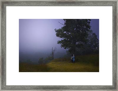 The High Ground Framed Print by Ron Jones