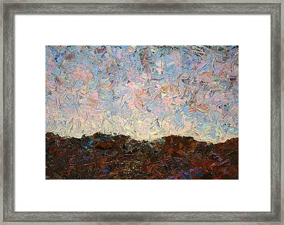 The Hills Framed Print by James W Johnson