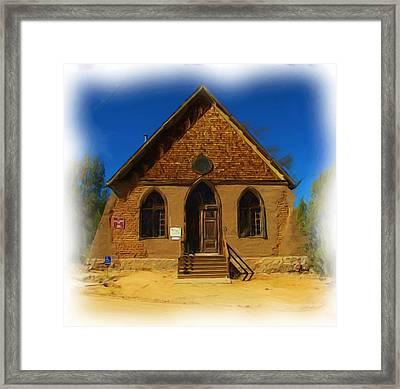 The Historic Hearst Church Framed Print by FeVa  Fotos