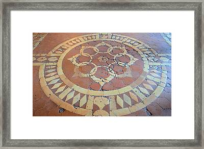 The History Beneath Your Feet Framed Print by