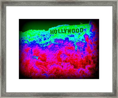 The Hollywood Sign Framed Print by Don Struke