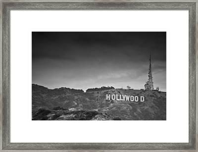 The Hollywood Sign Framed Print by Ralf Kaiser