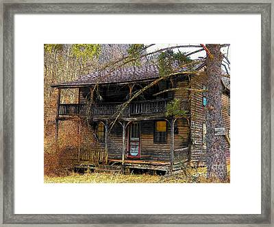 The Homestead Framed Print by Joyce Kimble Smith