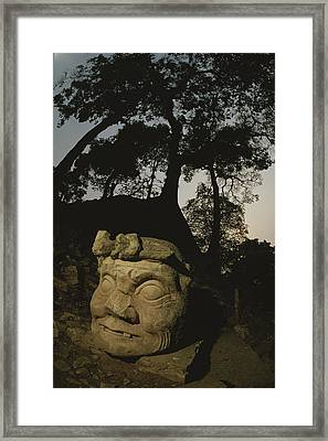 The Honduran Sun Setting Framed Print by Kenneth Garrett