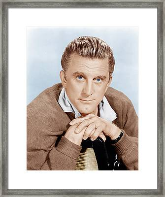 The Hook, Kirk Douglas, 1963 Framed Print by Everett
