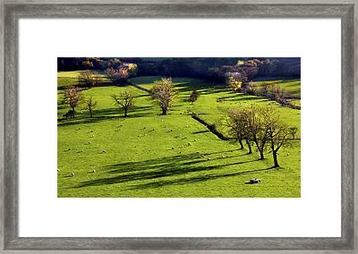 The Hope Valley Derbyshire Framed Print by Darren Burroughs