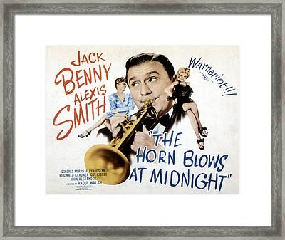 The Horn Blows At Midnight, Alexis Framed Print