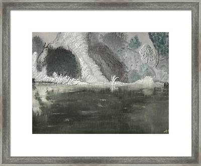 The Horror Framed Print by Nicla Rossini