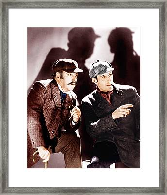 The Hound Of The Baskervilles Framed Print by Everett