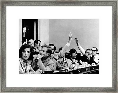 The House Judiciary Committee. The Framed Print by Everett