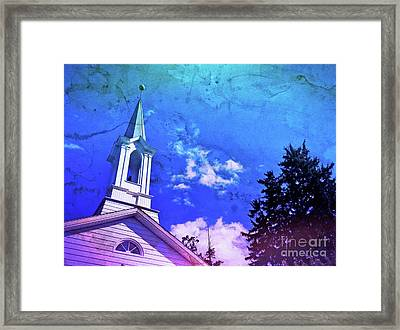 The House Of Men Under The House Of God Framed Print by Kevyn Bashore