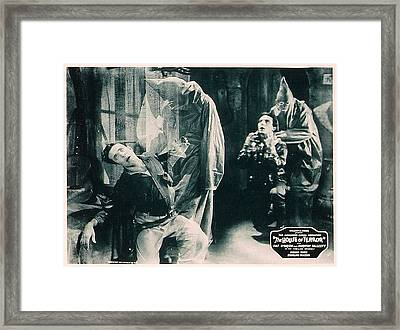 The House Of Terror, Front Left Jack La Framed Print by Everett