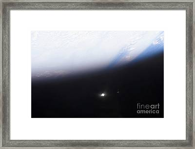 The Hubble Space Telescope Framed Print by Stocktrek Images