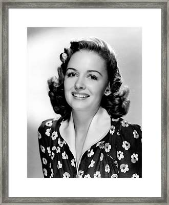The Human Comedy, Donna Reed, 1943 Framed Print by Everett