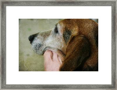 The Human Touch Framed Print by Joan Bertucci