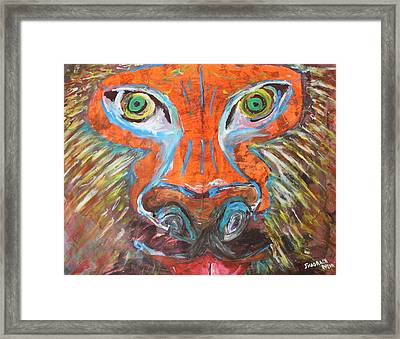 The Hunt Framed Print by Shadrach Ensor