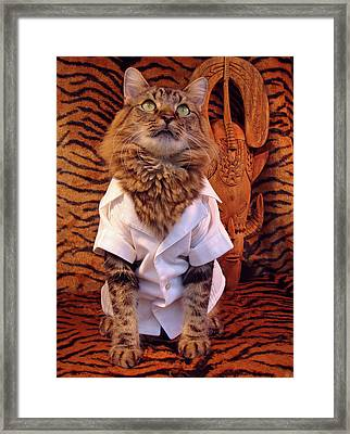The Hunter Framed Print by Joann Biondi
