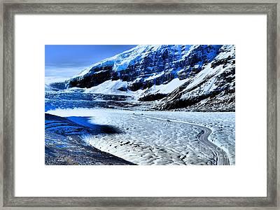 The Ice Fields Framed Print