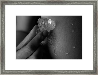 The Ice Framed Print by Stuart Thomson