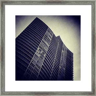 The Icon - South Beach Framed Print