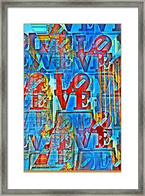 The Illusion Of Love Framed Print by Bill Cannon