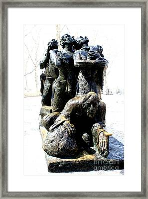Framed Print featuring the photograph The Immigrants by Anne Raczkowski