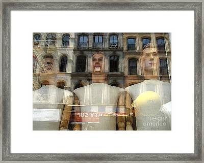 The Impersonal City Framed Print by Judee Stalmack
