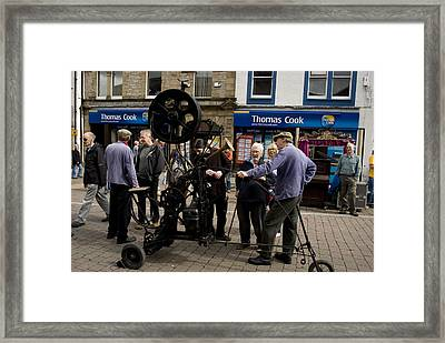 The Incredible Heath Robinson Machine Framed Print by Peter Jenkins