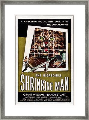 The Incredible Shrinking Man, 1957 Framed Print