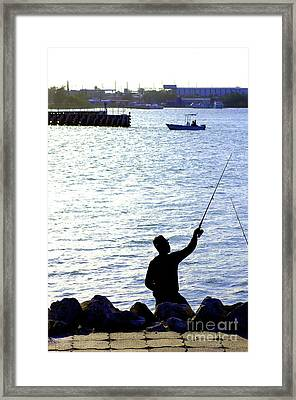 The Indian River In Fort Pierce Framed Print