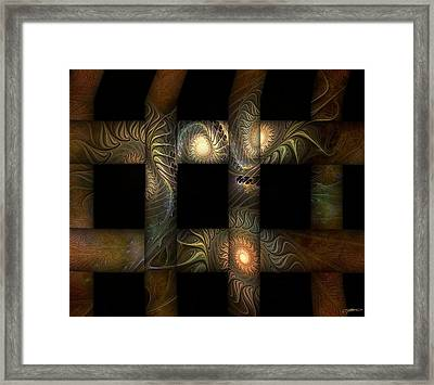 Framed Print featuring the digital art The Indomitability Of The Idea by Casey Kotas
