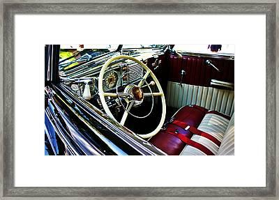 The Inside Framed Print by Cathie Tyler