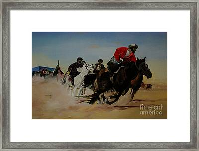 The Invisible War Framed Print