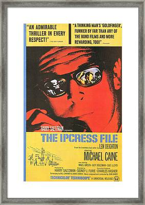 The Ipcress File Framed Print by Georgia Fowler