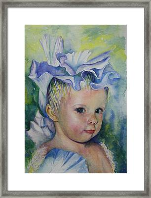 The Iris Princess Framed Print