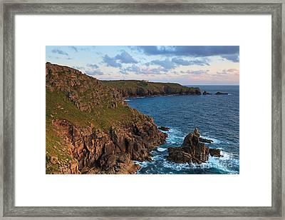 The Irish Lady At Sunset Framed Print
