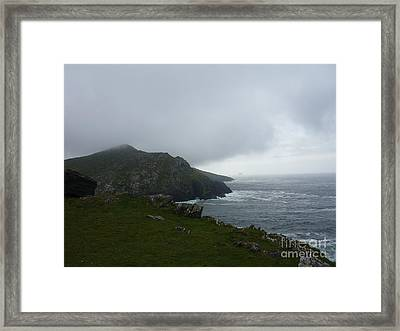 The Irish Sea Framed Print