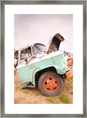 The Iron Boneyard 10 Framed Print by Matthew Angelo