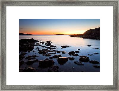The Island Framed Print by Robert Clifford
