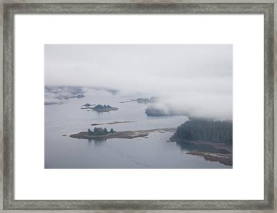 The Islands Of The Inside Passage Framed Print by Taylor S. Kennedy